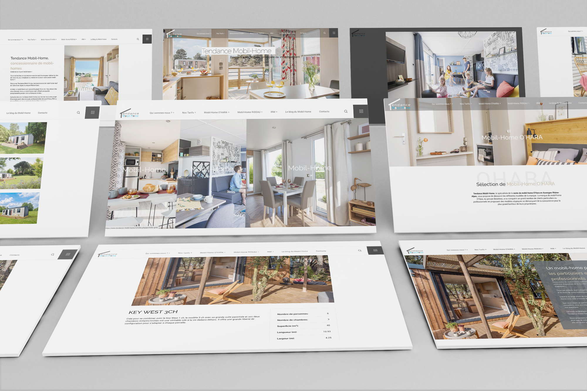 SIte web Tendance Mobil-Home