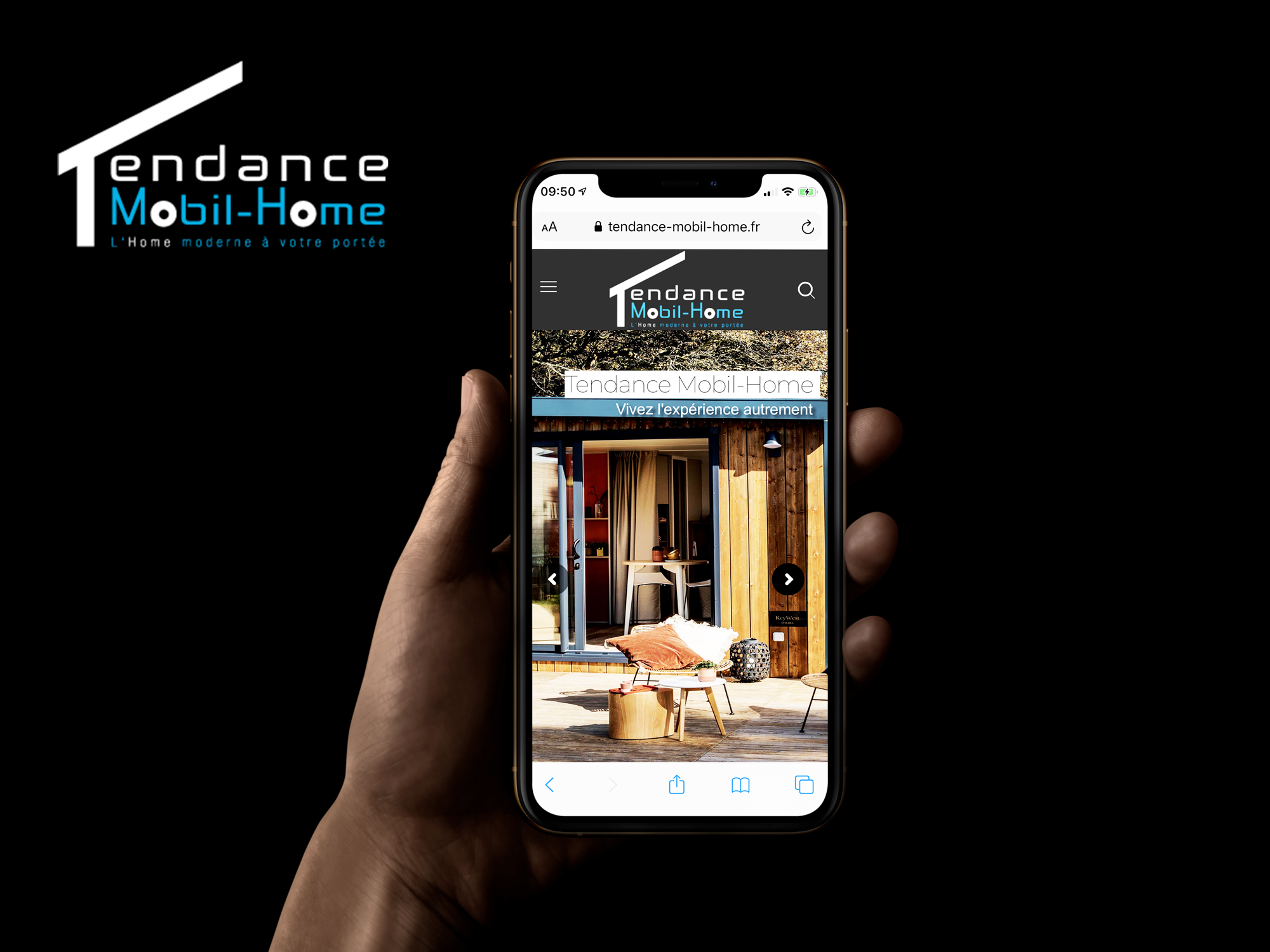 SIte mobile Tendance Mobil-Home